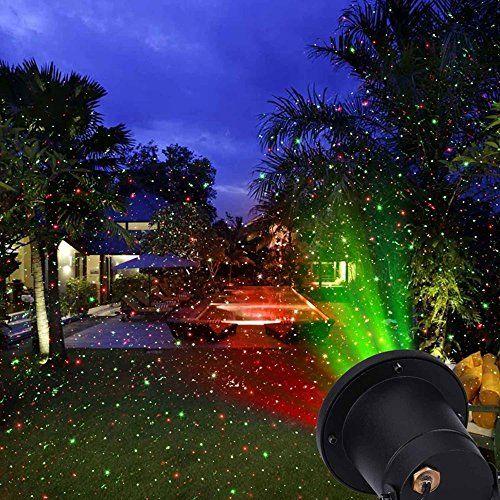 Christams Laser Lights Hosyo Laser Light Waterproof Moving Redgreen Laser Light Lan Outdoor Christmas Lights Outdoor Lighting Landscape Outdoor Garden Lighting