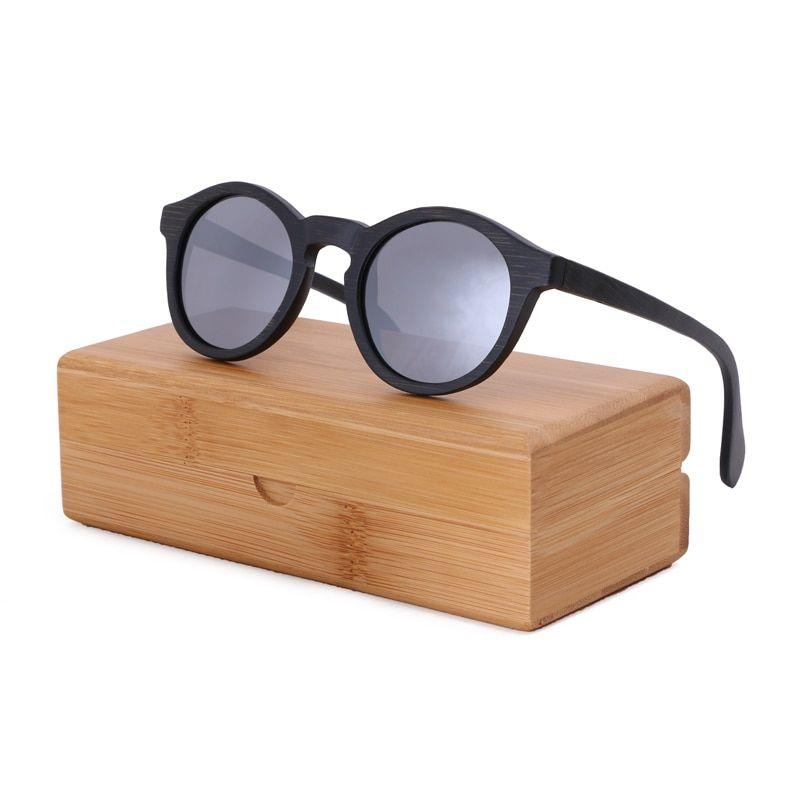 1c3360d07 BerWer 2018 fashion polarized woman sunglasses man Bamboo wooden sunglasses  oculos de sol feminino
