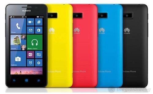 """Huawei Ascend W2 công bố, điện thoại WDP 8 """"giá rẻ"""""""
