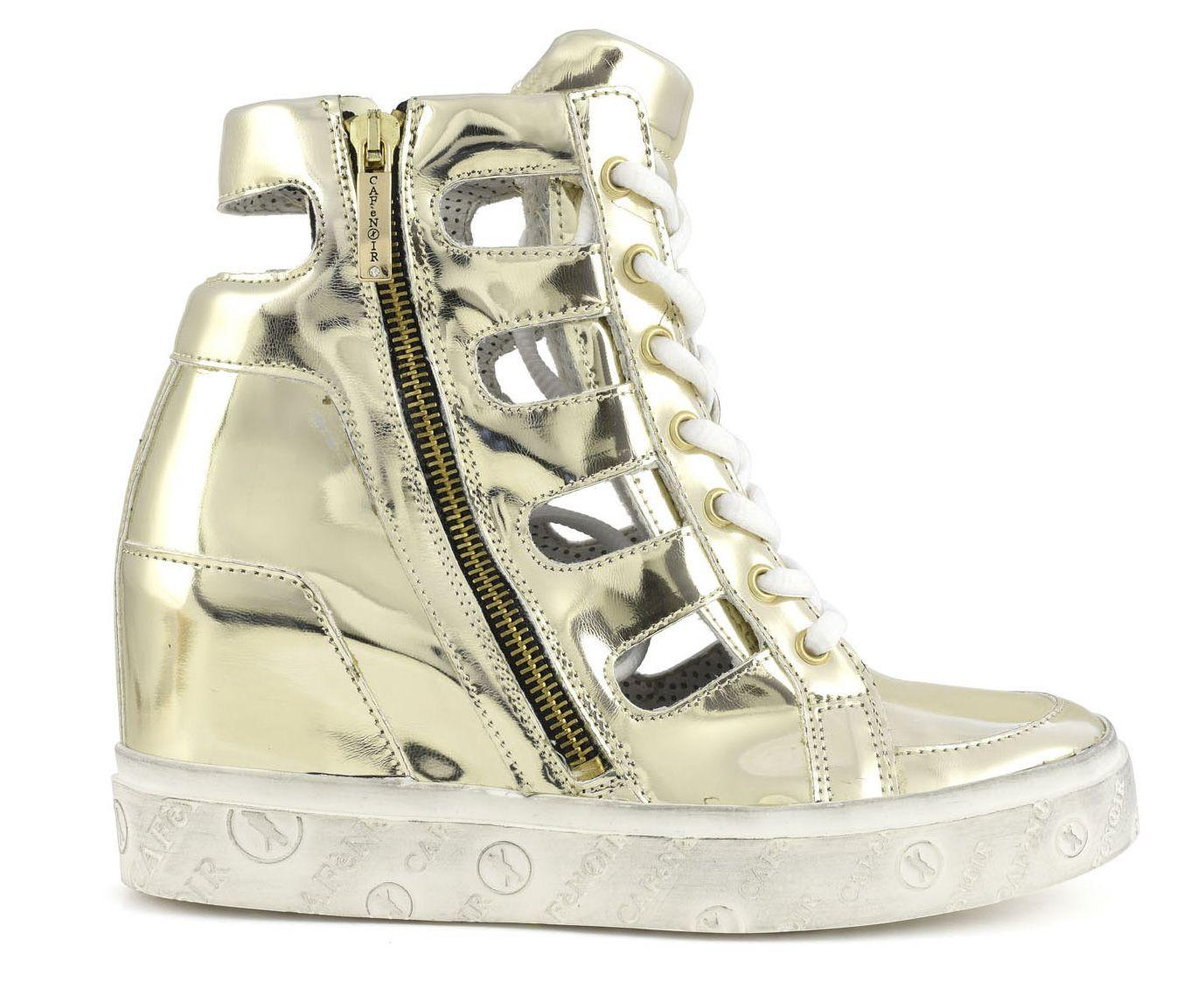 Tronchetto #CAFeNOIR  allacciato effetto specchio.  Vasto assortimento di scarpe, borse e sandali CAFé NOIR su www.tomacalzature.com