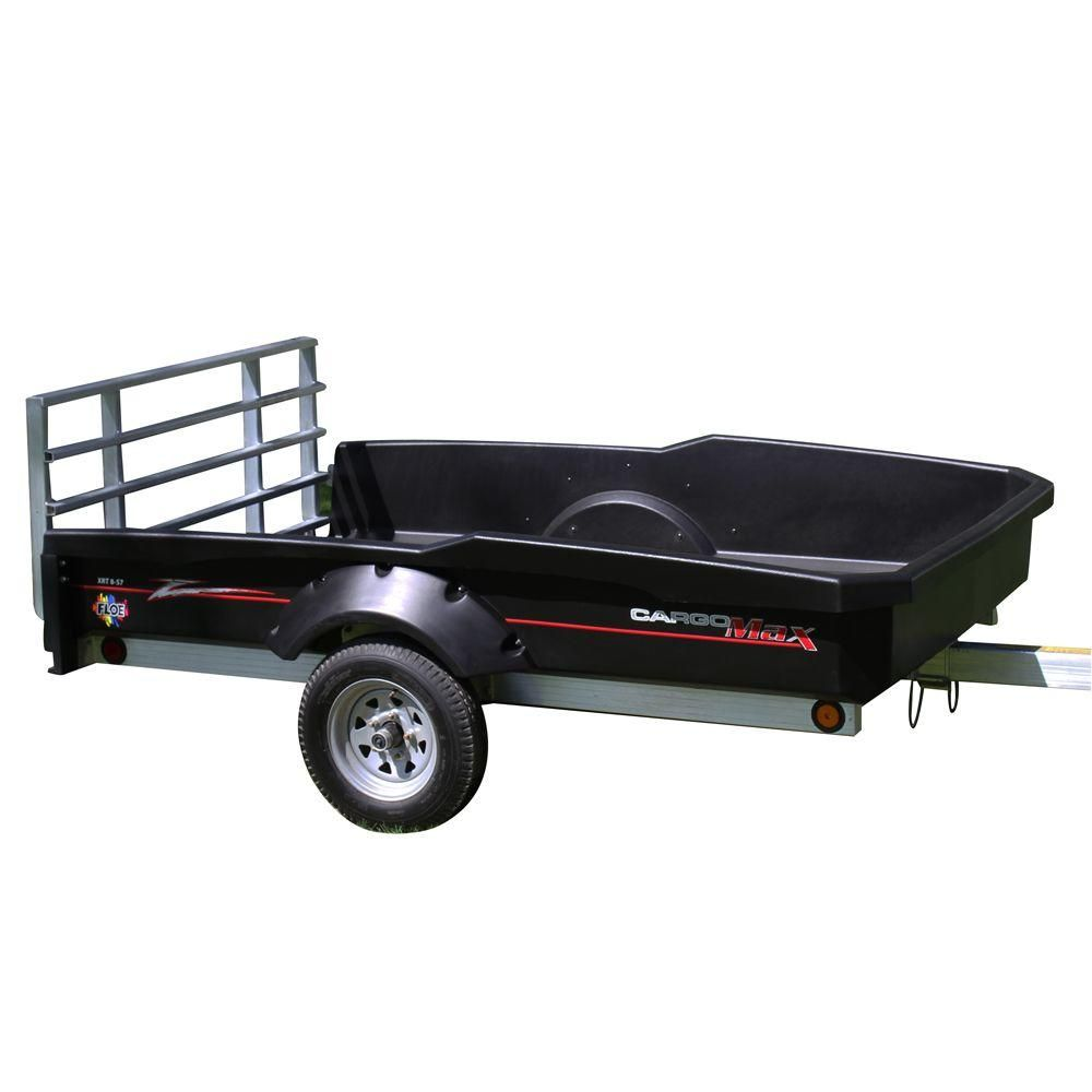 Cargo Max Xrt 8 57 1800 Lb Capacity Utility Trailer With Standard Wheels Cmii The Home Depot Utility Trailer Wheels For Sale Utility Trailers For Sale
