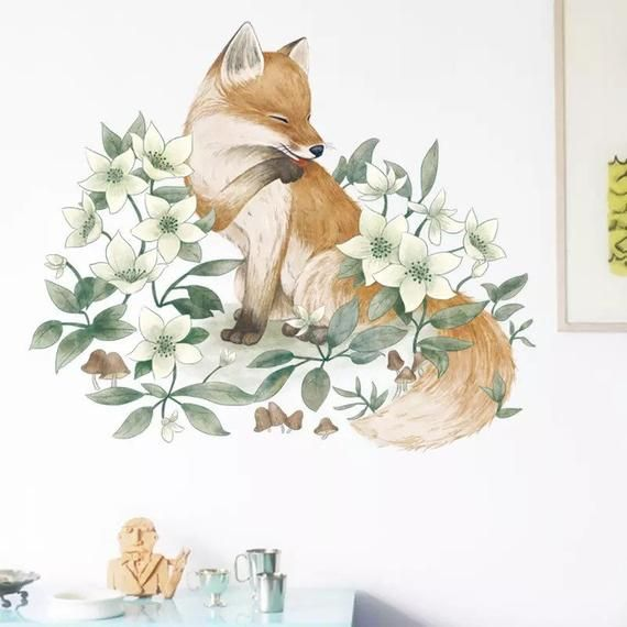 Murals, Foxes and Hunt's on Pinterest