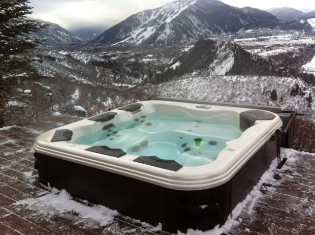 Bullfrog Spas Hot Tub That We Installed In Aspen Co I Think This