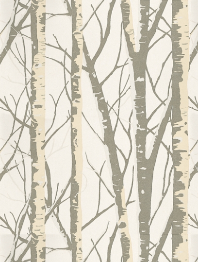 Prestigious's Birch is taken from the Woodland wallpaper collection and is in stock and available for purchase.