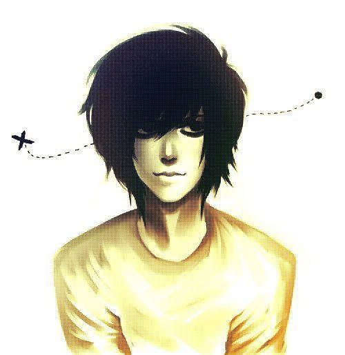 L Lawliet. He really looks like amazingphil in this drawing...