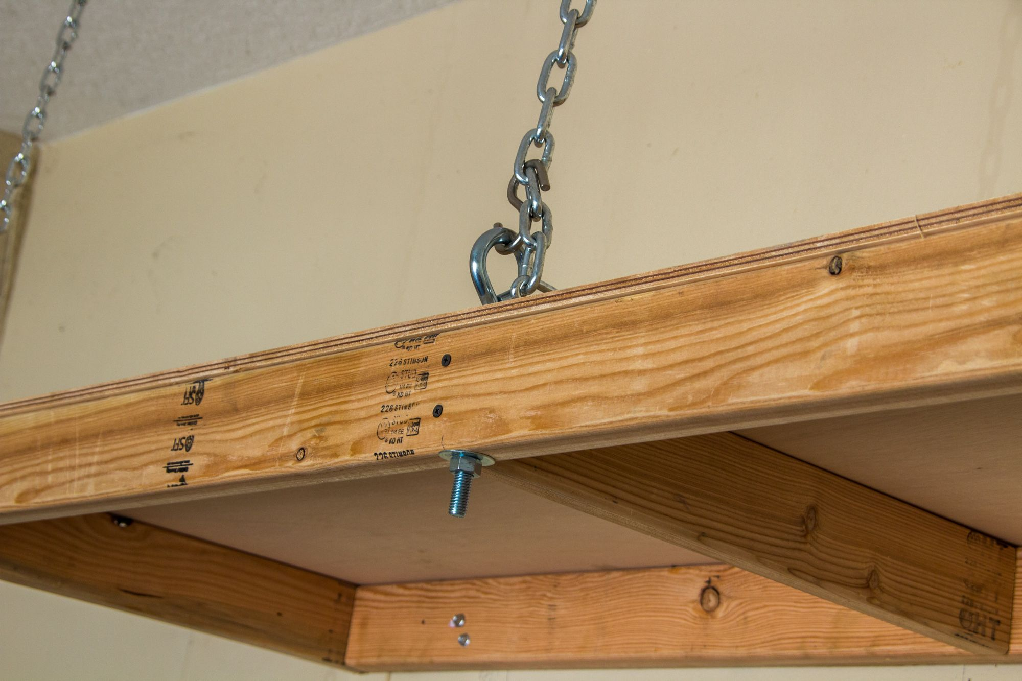 Eye Bolt In Hanging Garage Shelves