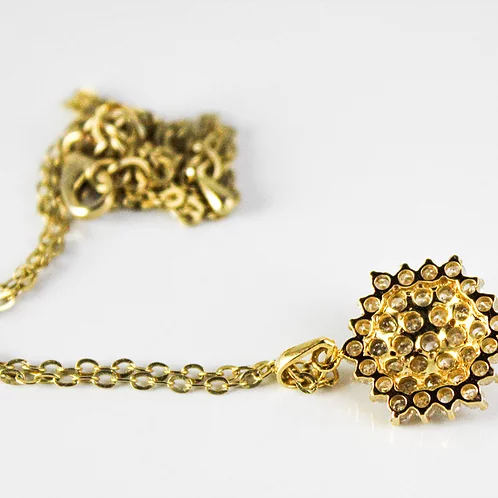 قلادة ألماس ديانا عيار 18 Maryam Co Jewelry Gold Gold Bracelet