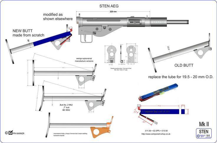 Pin On Sten Gun