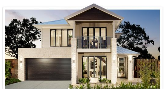 Addison modern house plans new home designs metricon for Metricon new home designs