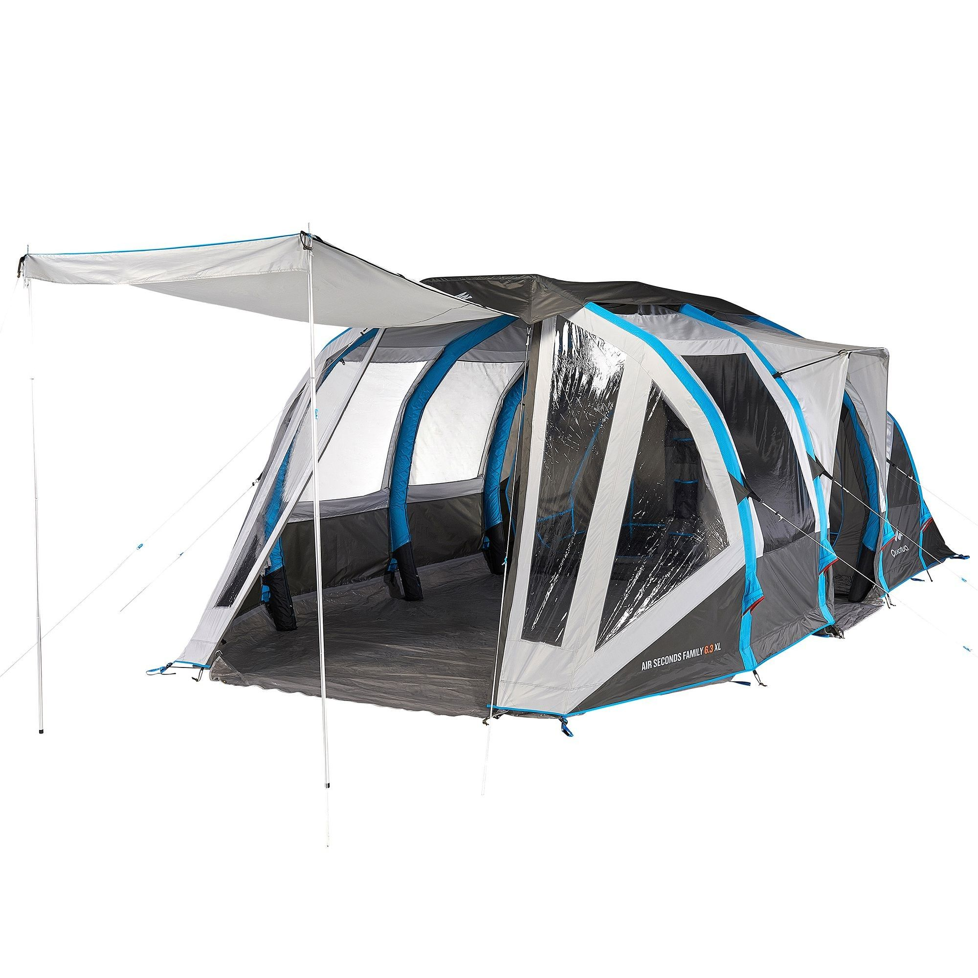 Tente Air Seconds Family 6 3xl Quechua Tente Decathlon Ventes Pas Cher Com Tente Gonflable Tente Decathlon Tente Familiale