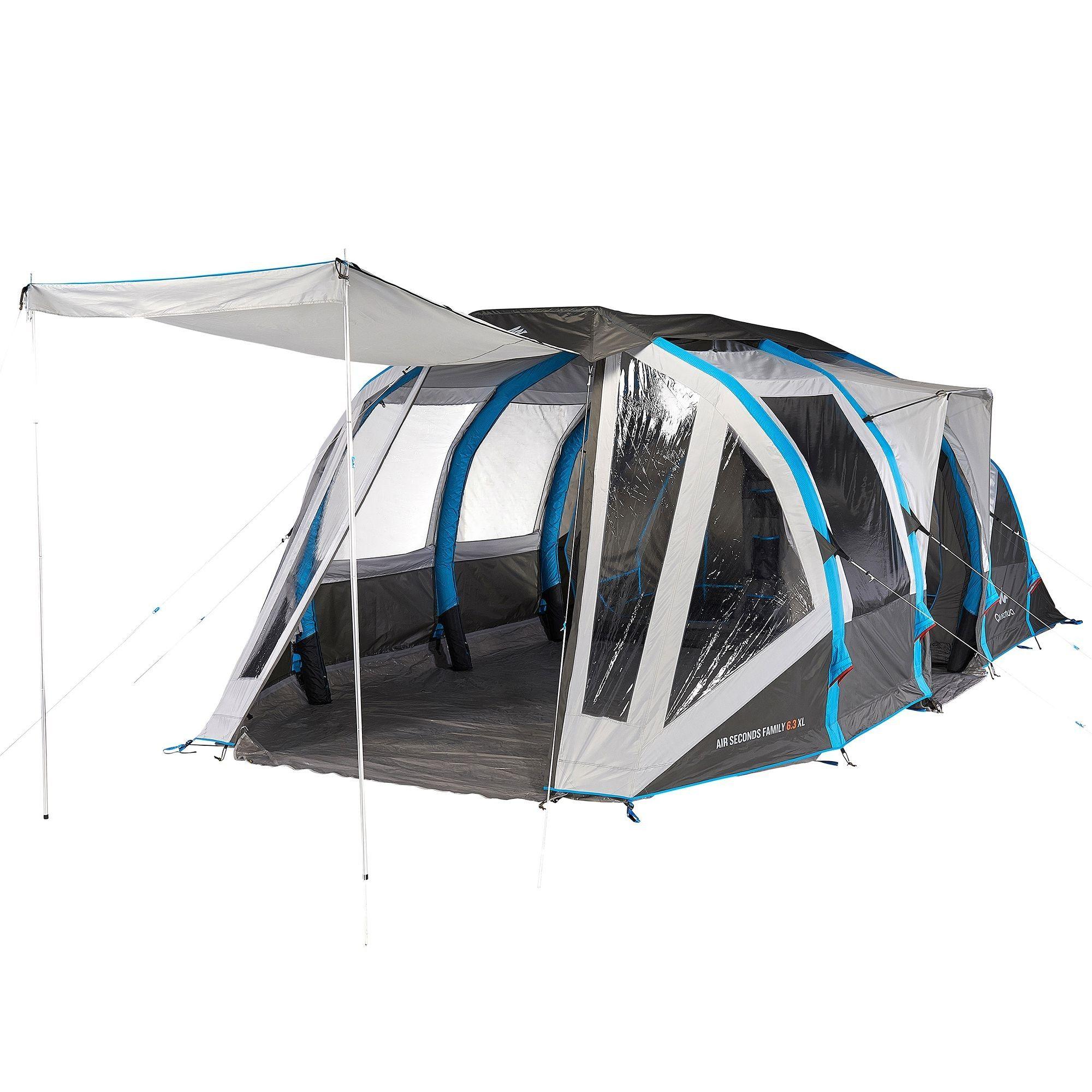 Tente AIR SECONDS FAMILY 6.3XL QUECHUA prix promo Tente Decathlon 549.90 € TTC