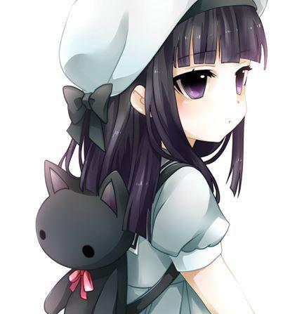 anime, Military, Headphones, Backpacks, School Uniform, White Hair ...