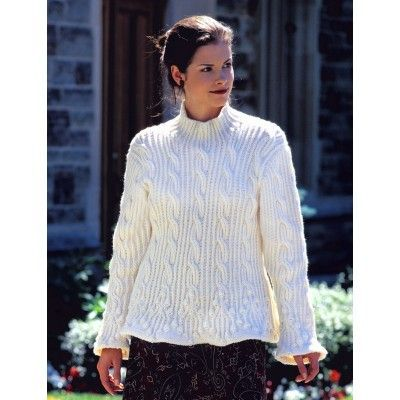 f2888a23e9ad Womens Sweater Knitting Patterns Patons Elegant Details Free Knitting  Pattern
