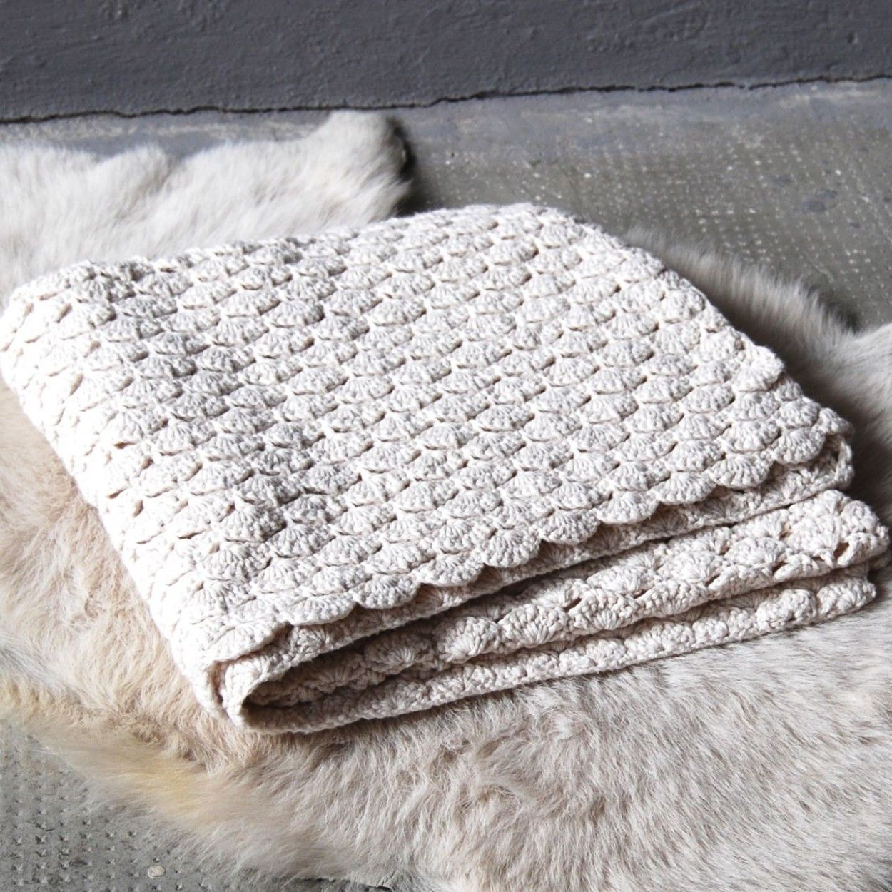 cozy knitted blanket ♥