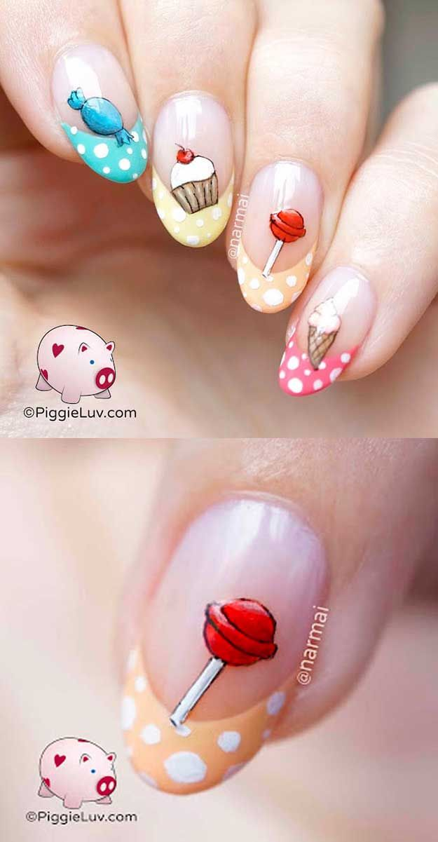 75 Most Creative Nail Art Ideas We Could Find Locking Pinterest