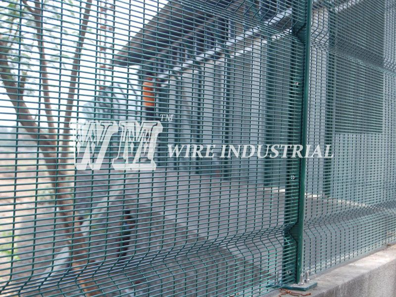358 security fence provides the highest degree of physical perimeter ...