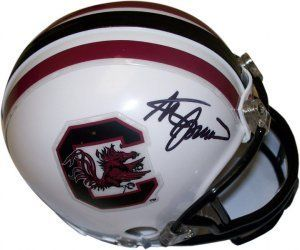 Steve Spurrier signed South Carolina Gamecocks Replica ...