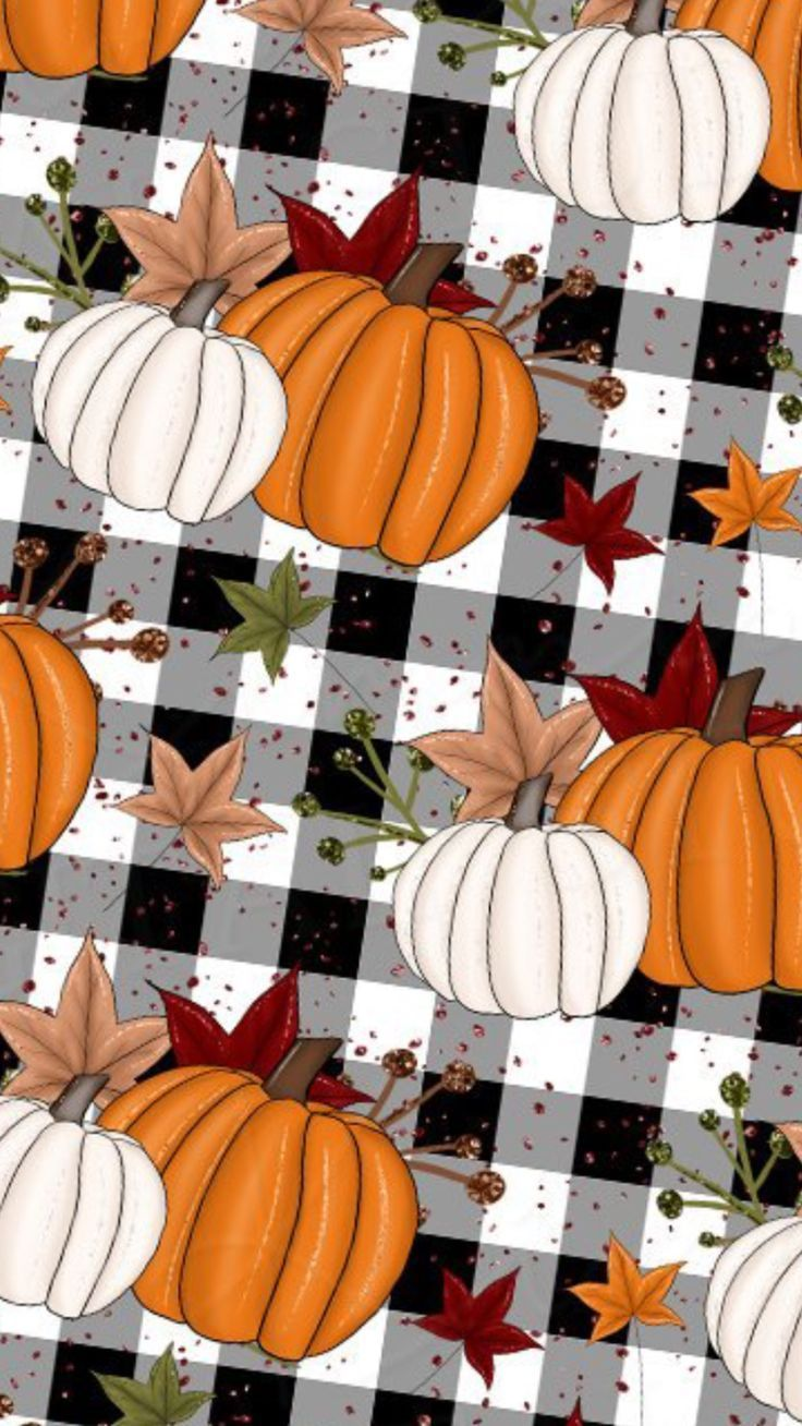 White and Orange Pumpkin Wallpaper, #orange #Pumpkin #ThanksgivingWallpaperiphone #wallpaper...