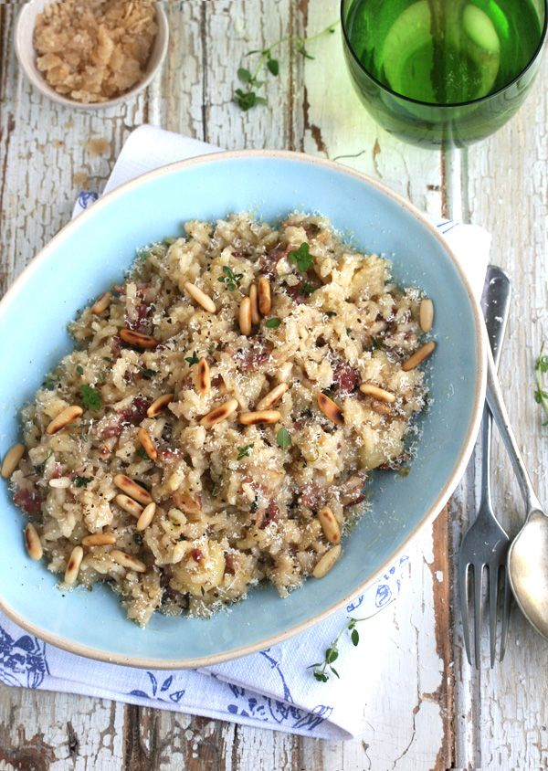 Bacon & Apple Risotto