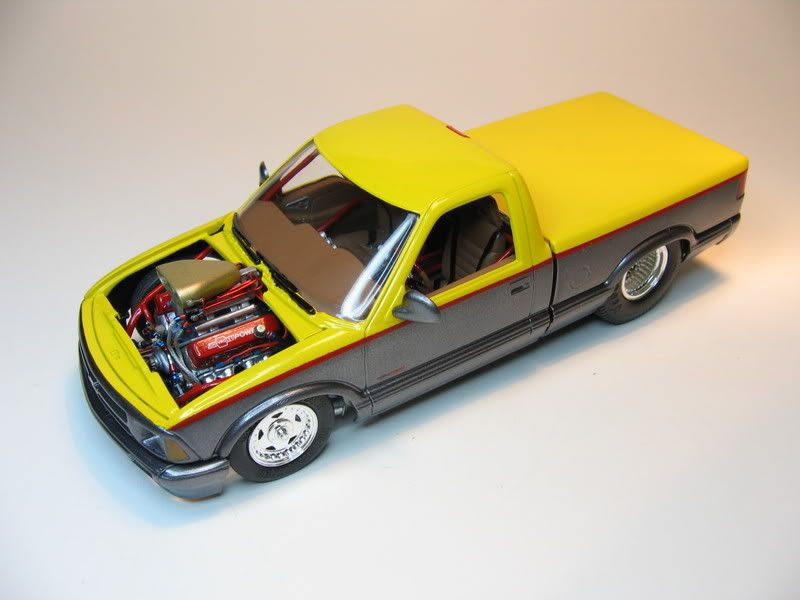 chevy s10 model kits