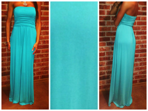 Maxi Dress Turquoise – Andy Boutique www.andyboutique.com