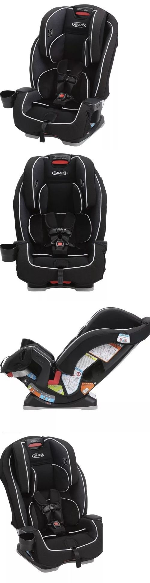 Convertible Car Seat 5 40lbs 66695 Graco Milestone All In One