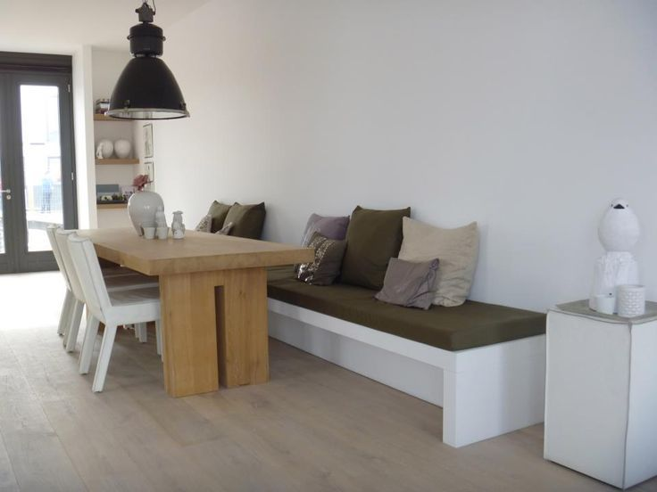 Eettafel met bank - I Love My Interior - | Project B05116 ...