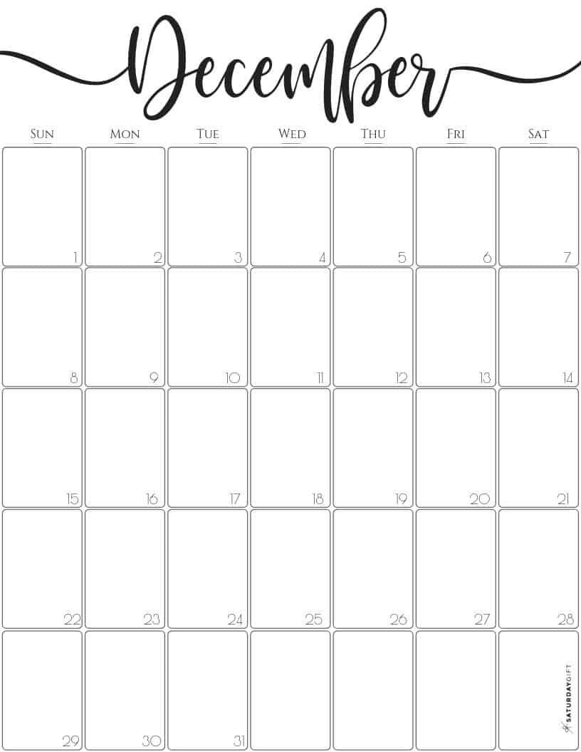 Free Whimsical Christmas Theme 2021 December Printable Calendar Cute Free Printable December 2021 Calendar Saturdaygift Calendar Printables Printable December Calendar October Calendar