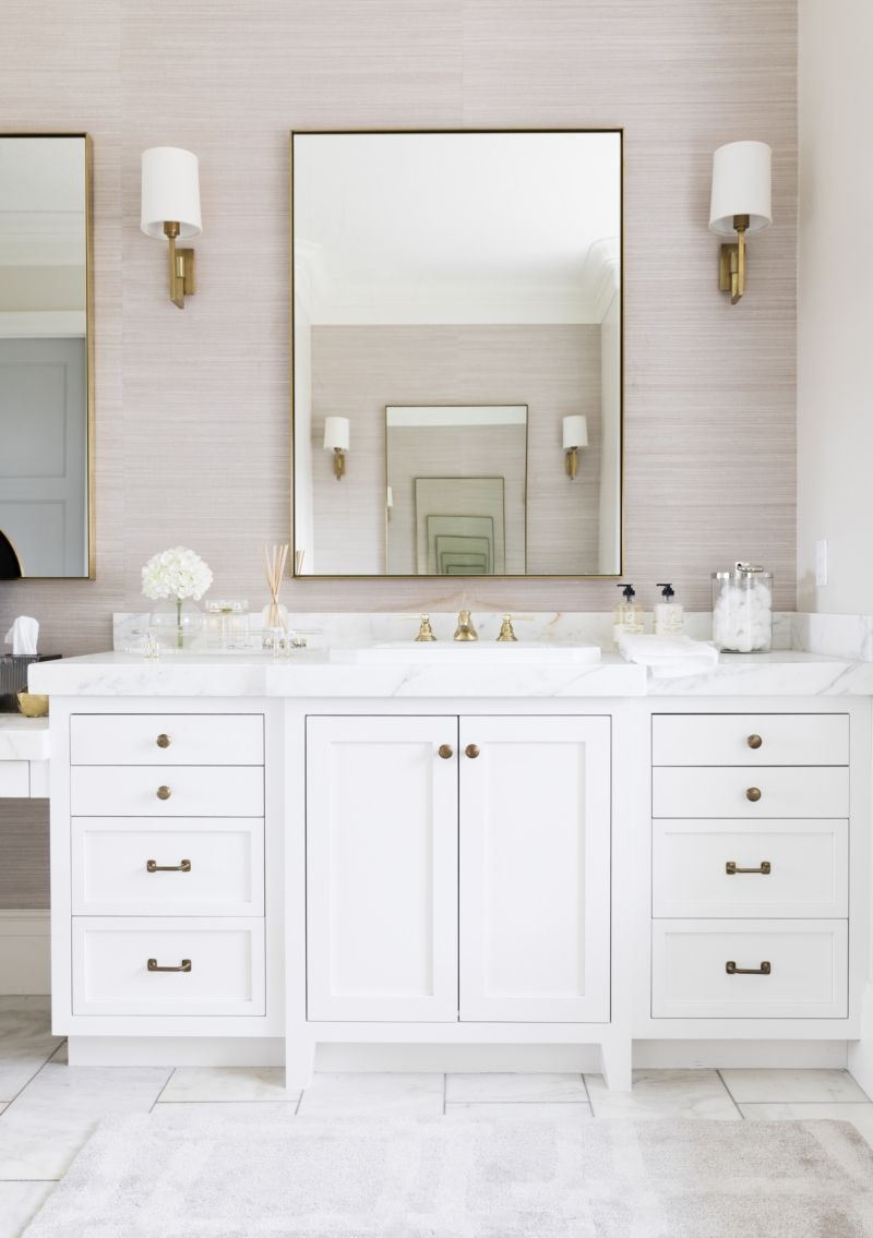 Master Bathroom Reveal: My Master Bath Reveal In 2019
