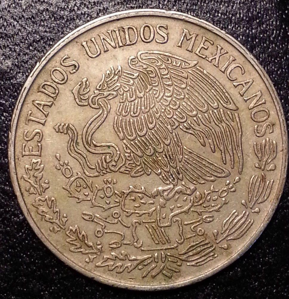 Un Peso Mexico 1969 Snake Eagle | Coins | Coins, Eagle, Coin