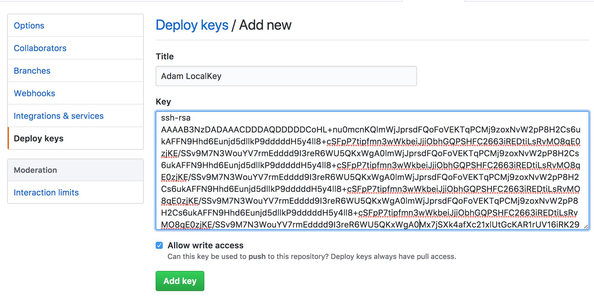 Github 設定 SSH Deploy key 流程教學 « 關於網路那些事...