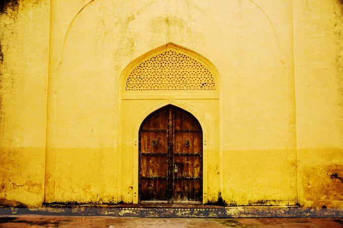 Doors at Jantar Mantar, Jaipur, India