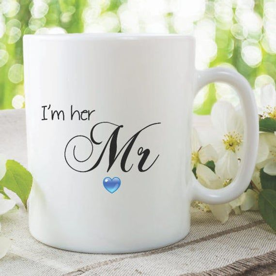 Rude Mr And Mrs Questions: Mr Mug I'm Her Mr Cup Wedding Gift Present Funny Novelty