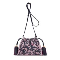 bolso flamenco 20 barroco lila - Bolsos Mujer