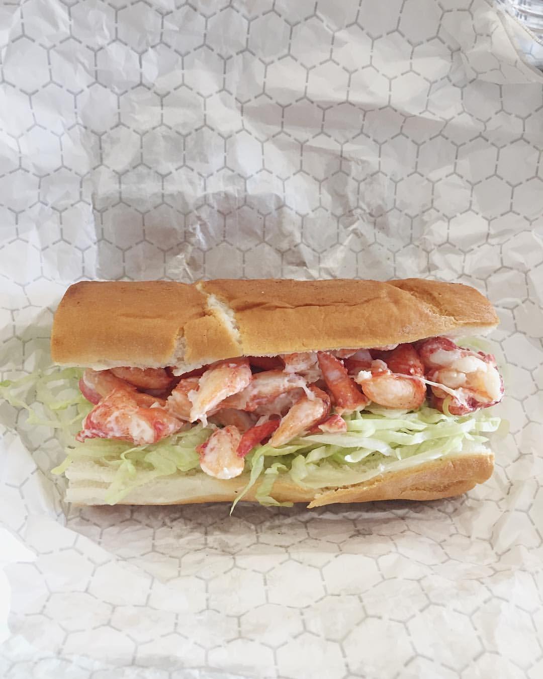 Gluten free lobster roll from Portsmouth, NH.   Gluten ...