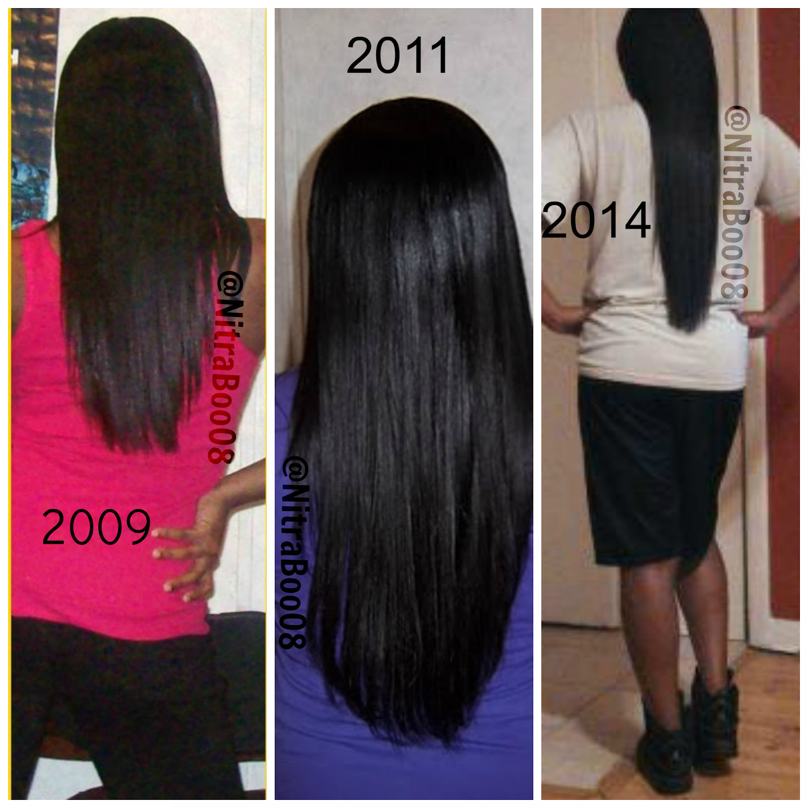 Cool Relaxed Hair Grows Super Long Too Nitraboo08 Sleek And Smooth Hairstyle Inspiration Daily Dogsangcom