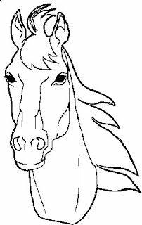 Horse Head Profile Outline Google Search Pferdegesicht Pferdekopf Pferd Ausmalen