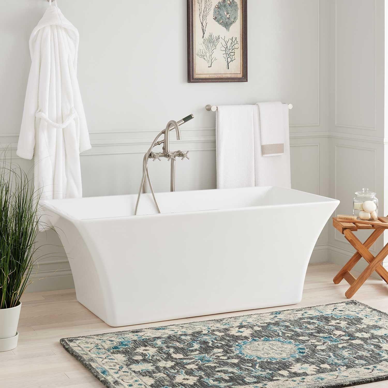 Draque Acrylic Freestanding Tub Free Standing Tub Acrylic Tub