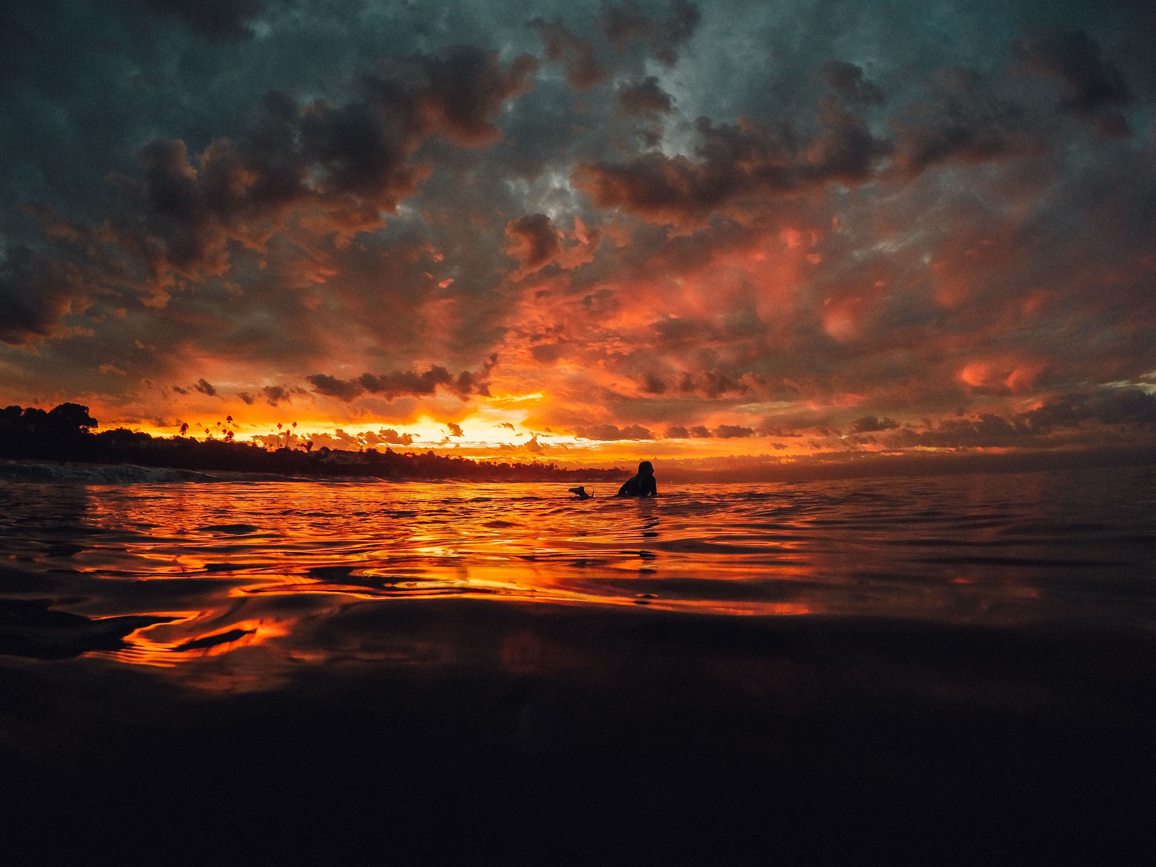 """Sunset shots are easier to capture than you might think! Set your #GoPro to Night Lapse and leave the settings on """"auto."""" All you have to do is find the angle that adds some drama!"""