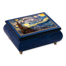 Starry Night Musical Jewelry Box love that painting
