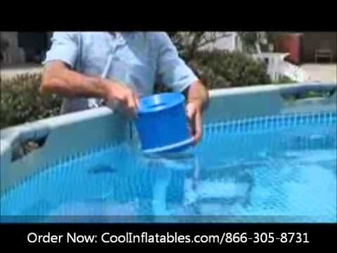 Intex Pool Surface Skimmer Setup Instructions Youtube Outdoor
