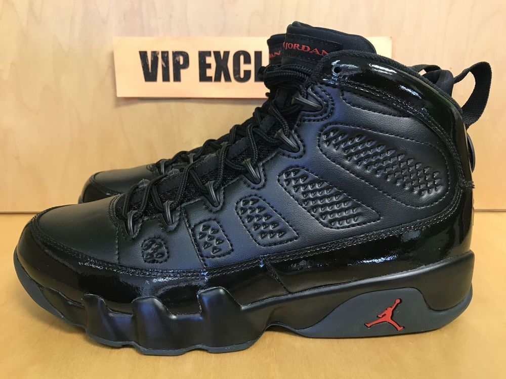 6cd2e0a1935315 Nike Air Jordan Retro 9 IX Bred Black Red Patent Leather 302370-014 Size  8-14  MichaelJordan  AirJordan  Jordans