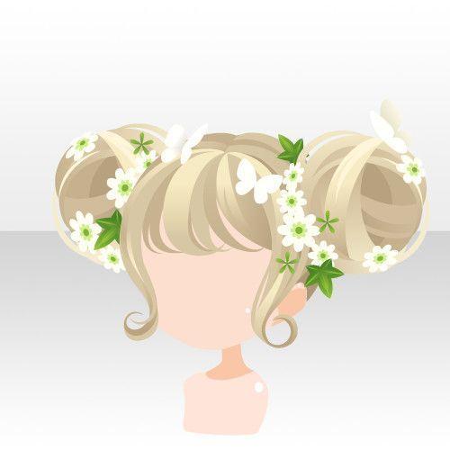 Photo of li.nu attrade gachalist.php?gacha=1789 anime hair double pigtail buns blonde lig…, #Anime #…