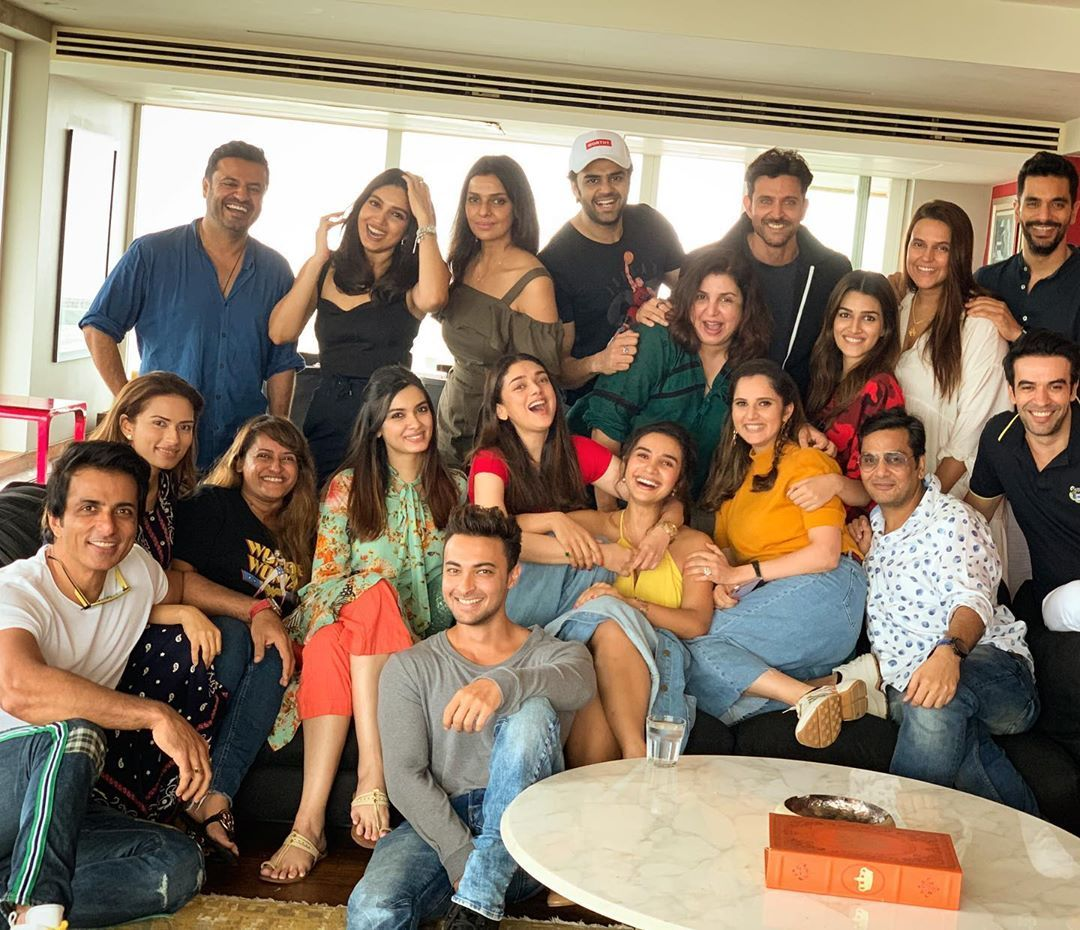 Farah Khan Organises Mother Of All Sunday Lunches For Sania