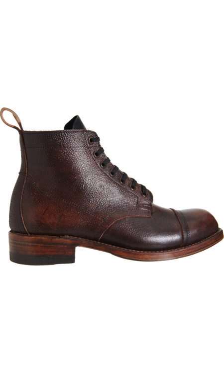 8c49a24556a Julian Boots drops the plush, super durable Buckingham lace up in ...