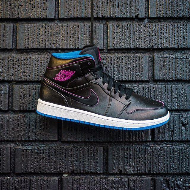 Instagram post by Sneaker Politics • Dec 30, 2015 at 7:40pm UTC. Pink  PhotoNike Air JordansBasketball ShoesJordan 1 MidSneakersBlack ...