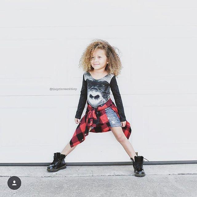 • Gorilla • #kids #fashion #clothing #fashionkids #kidsclothing #eco #sustainable #ecofashion #aw15 #print #danishdesign #popupshopnet • Regram @theprinceandthep