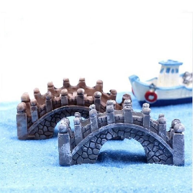 Accessories Stone Temple Bridge Miniature Dollhouse FAIRY GARDEN