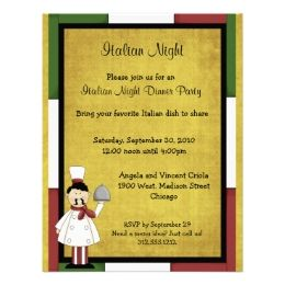 Delicious Pasta Party Ideas And Invitations Italian Night Dinner Party Invitations Dinner Party