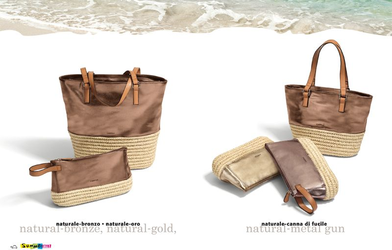 Straw bags | Carpisa Summer 2013 collection.